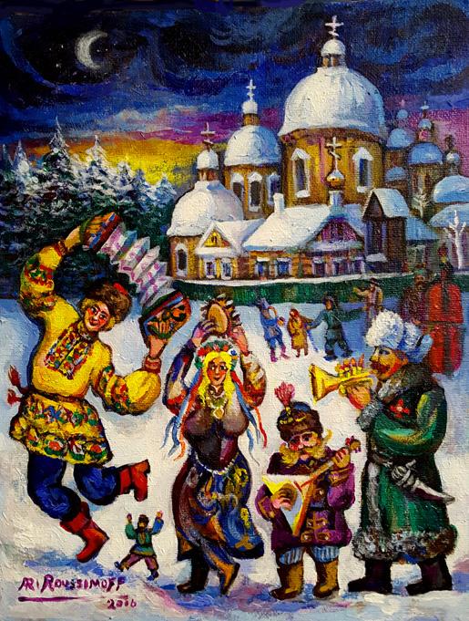 Folk Art Gems Paint